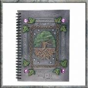 Book of Shadows Journal  Dream Book Tree of Life Wiccan Pagan Altar Ornament